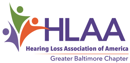 Hearing Loss Association of America Greater Baltimore Chapter logo